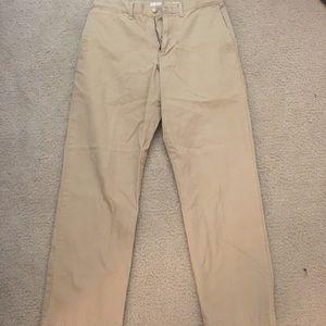 Old Navy Men's Khaki Straight Fit Pants